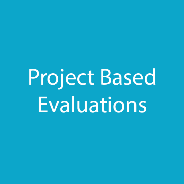 project based evaluations