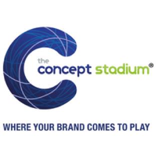 Concept stadium logo